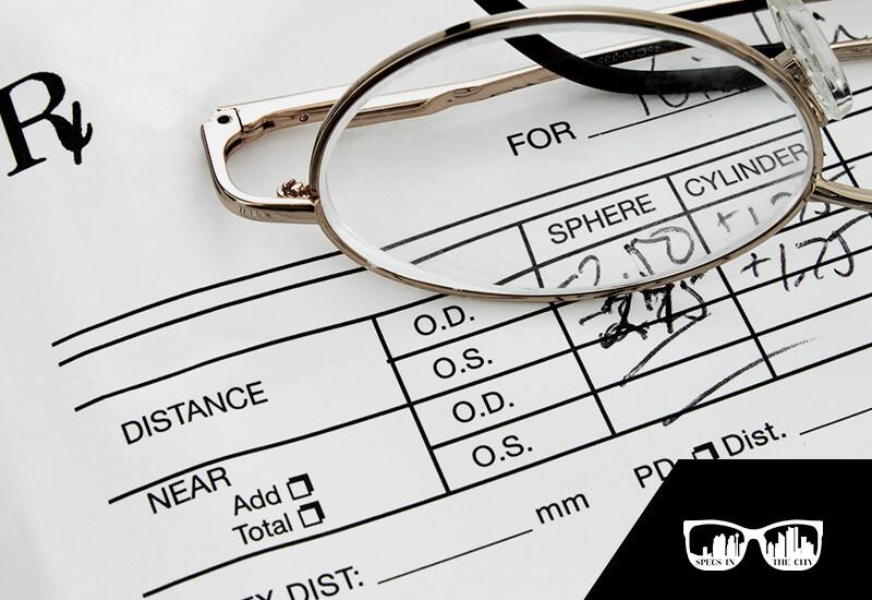 How To Read Your Eyeglass Prescription